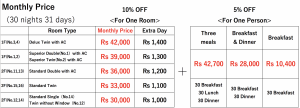 Monthly Price